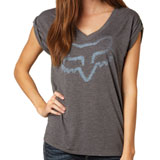 Fox Racing Extent Ladies V-Neck T-Shirt