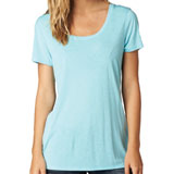Fox Racing Women's Miss Clean Scoop-Neck T-Shirt