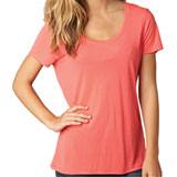 Fox Racing Miss Clean Ladies Scoop-Neck T-Shirt