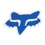 Fox Racing Foxhead Sticker  Blue