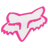 Fox Racing Head TDC Sticker  Pink