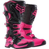 Fox Racing Youth Comp 5 Boots Black/Pink