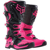 Fox Racing Women's Comp 5 Boots Black/Pink
