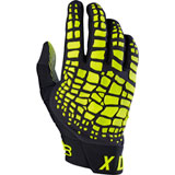 Fox Racing 360 Grav Gloves 2017 Black/Yellow