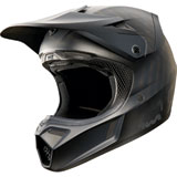 Fox Racing V3 Matte Black Helmet