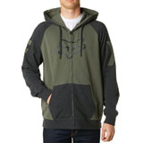 Fox Racing Heighten Zip-Up Hooded Sweatshirt