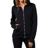 Fox Racing Racer Ladies Zip-Up Hooded Sweatshirt
