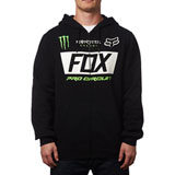 Fox Racing Monster Paddock Zip-Up Hooded Sweatshirt