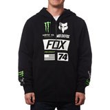 Fox Racing Monster Union Zip-Up Hooded Sweatshirt