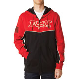 Fox Racing Record Zip-Up Hooded Sweatshirt