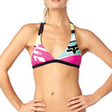 Fox Racing Women's Divizion Fixed Halter Bikini Top