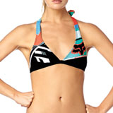 Fox Racing Divizion Ladies Fixed Halter Bikini Top