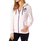 Fox Racing Speed Ladies Zip-Up Hooded Sweatshirt