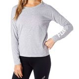 Fox Racing Backtrack Tech Raglan Ladies Long Sleeve T-Shirt