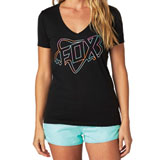 Fox Racing Configuration Ladies V-Neck T-Shirt