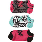Fox Racing Curbed Ladies Socks 3-Pack