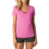 Fox Racing Women's Snapped V-Neck T-Shirt