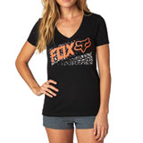Fox Racing Standby Ladies V-Neck T-Shirt