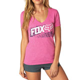 Fox Racing Women's Standby V-Neck T-Shirt
