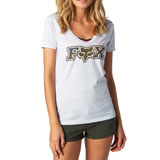 Fox Racing Women's Vapors V-Neck T-Shirt