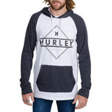 Hurley Diamond Plus Raglan Long Sleeve Hooded Shirt