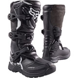 Fox Racing Youth Comp 3 Boots Black