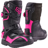 Fox Racing Youth Comp 5K Boots Black/Pink