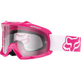 Fox Racing Youth Air Space Goggle Hot Pink Frame/Clear Lens