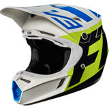 Fox Racing Youth V3 Creo MIPS Helmet White/Yellow