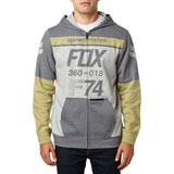 Fox Racing Drafter Zip-Up Hooded Sweatshirt