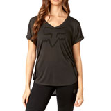 Fox Racing Women's Responded V-Neck T-Shirt