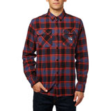 Fox Racing Traildust Flannel Long Sleeve Button Up Shirt
