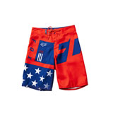 Fox Racing Youth Red, White and True Board Shorts