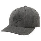 Fox Racing Heads Up 110 Snapback Hat Heather Black
