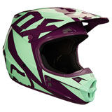 Fox Racing V1 Race Helmet Green