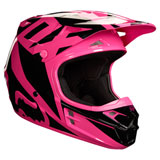 Fox Racing V1 Race Helmet Pink