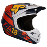 Fox Racing V1 Sayak Helmet Orange