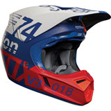 Fox Racing V3 Draftr MIPS Helmet Blue
