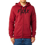 Fox Racing District 2 Zip-Up Hooded Sweatshirt