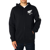 Fox Racing Honda Zip-Up Hooded Sweatshirt 2018