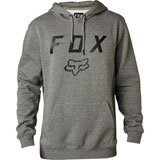 Fox Racing Legacy Moth Hooded Sweatshirt Heather Graphite