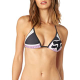 Fox Racing Women's Momentum Triangle Bikini Top