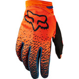 Fox Racing Girl's Youth Dirtpaw Gloves Grey/Orange
