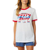 Fox Racing Women's First Placed BF T-Shirt