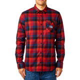 Fox Racing Rovar Flannel Long Sleeve Button Up Shirt