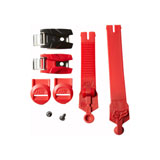 Fox Racing 180 Boot Replacement Buckle, Strap and Pass Kit