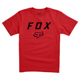 Fox Racing Youth Legacy Moth T-Shirt Dark Red