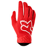 Fox Racing Airline Gloves Red