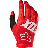 Fox Racing Dirtpaw Race Gloves Red