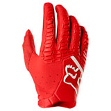 Fox Racing Pawtector Gloves Red